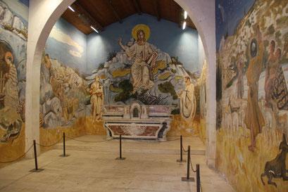 Bild: Im Innern der Chapelle des Pentents Blancs