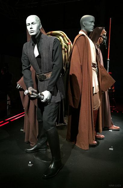 image: nina luca, star wars, star wars identities, star wars münchen, star wars exhibition, jedi, lightsaber, anakin skywalker, luke skywalker, jedi master, sith, sith lord