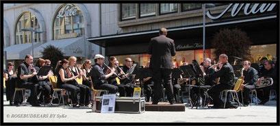 das MSO in Urlaubsbesetzung mit dem richtigen Dirigenten