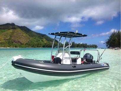Tour privé en bateau à Moorea