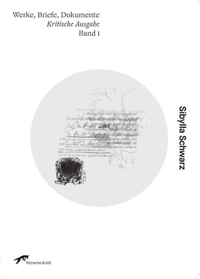 Das Bild zeigt das Cover von Werke Briefe Dokumente von Sibylla Schwarz.