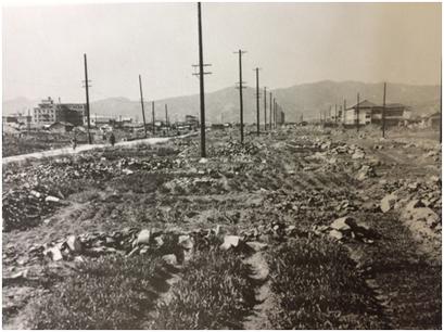 1949年平和大通り