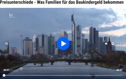 Aji Chakiath in einem Beitrag des Hessischen Rundfunks