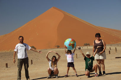 devant la Dune 45