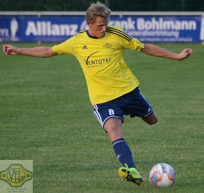 Holger Wulffs Treffsicherheit beschert ihm einen Besuch im Sportstudio