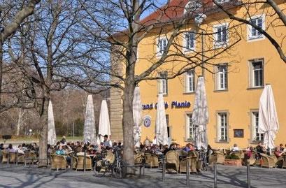 Frühstück am Charlottenplatz in Stuttgart