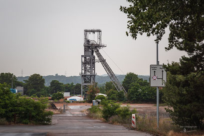 Bergwerk Zeche Saar in Ensdorf, Saarland, Deutschland, Industriekultur, Industrie, Zechen, Bergbau, Steinkohle