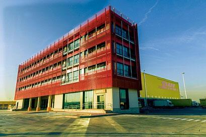 Neat facility: DHL Express' new hub at Madrid Barajas Airport  -  company courtesy