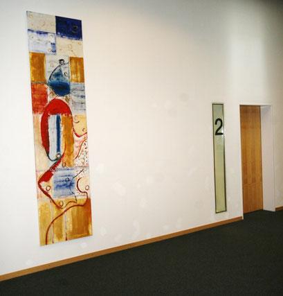 ©  Nathalie Arun: Bild 70 cm x 2,80 m für Atrium Speicherstadt, Münster