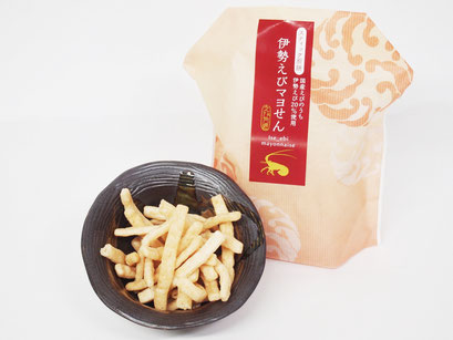 キヨタフーズの伊勢えびマヨせんは、定番のえびマヨネーズ風味でやみつきになります。