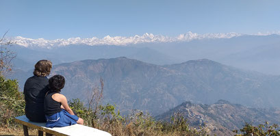 Ridge Trail Katmandu Nepal