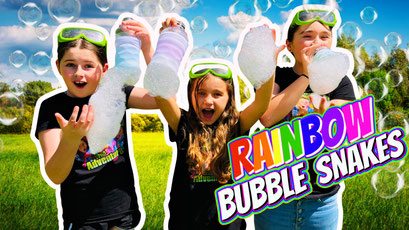 homemade bubble recipe, bubble snake, bubbles, kids learning, kids youtube