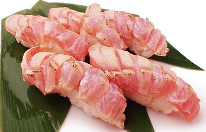 大トロのあぶり 寿司 出前