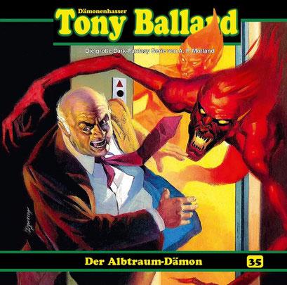 CD-Cover Tony Ballard - Der Albtraum-Dämon
