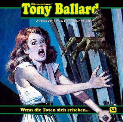 CD-Cover Tony Ballard - Wenn die Toten sich erheben