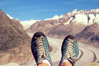Wandern Berge Nordic Walking
