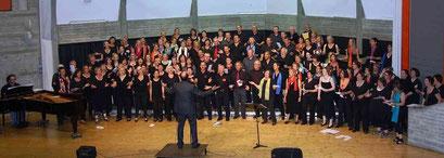 Unter der Leitung von Professor Hubert Minkenberg findet im Mai in Hückelhoven wieder ein Gospelworkshop statt. Foto: Hubert Minkenberg