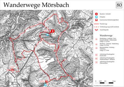 Wanderwege Mörsbach