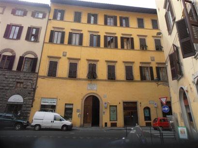 La casa Guidi (residència de Miss Barret a Itàlia) a l'actualitat