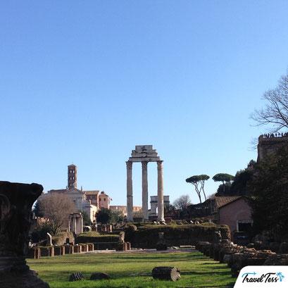 Forum Romanum in de zon