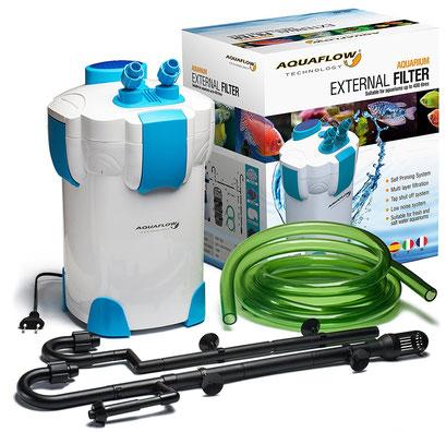 Aquaflow Technology® Super AEF-302 - 3 Stufen Außenfilter