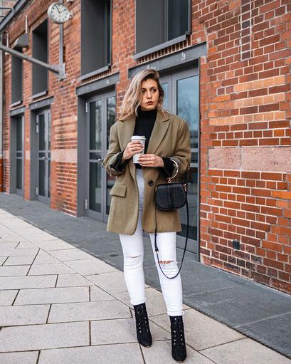 Im Blogartikel dreht sich alles um Outfit Ideen für den Winter