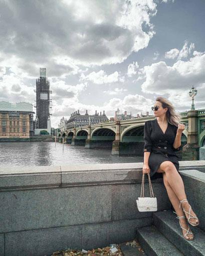 Zu sehen ist eine mögliche Bildidee für das Palace of Westminster.