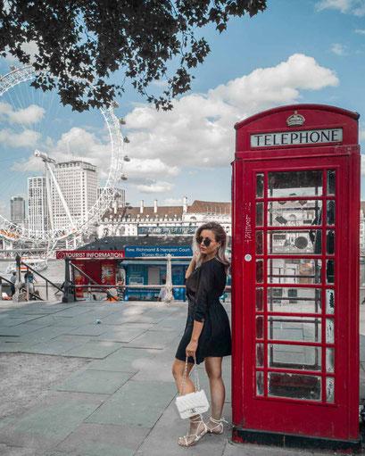 Zu sehen ist eine mögliche Bildidee für das London Eye.