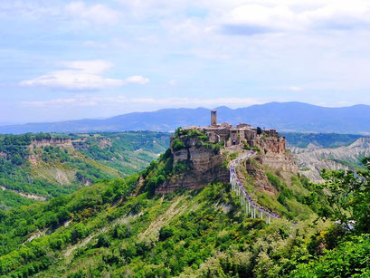 Be amazed by the beauty of Civita, Italy