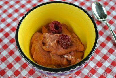 Avocado-Himbeer-Creme für Mixer, Thermomix oder Pürierstab
