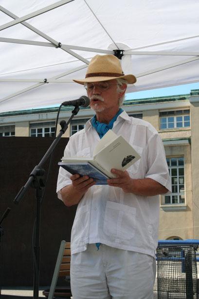 Markus Manfred Jung am Tag der Poesie 2012 (Bild: Felix Werner)
