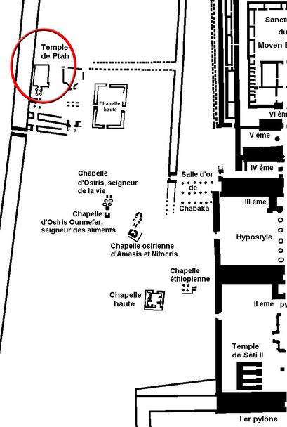 Karnak - Temple de Ptah