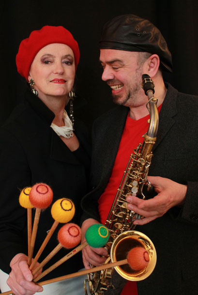 Das Duo QUARTIER LATIN, Leticia Bal und Paul Weiling. Foto: Esther van der Linde