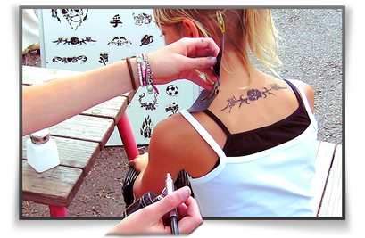 Airbrush Tattoos günstig mieten in Bonn/Köln/Bornheim