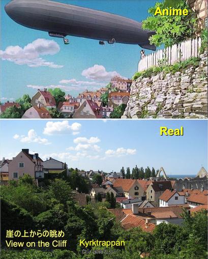 """魔女の宅急便、ゴットランド島のヴィスビー/ヴィスビュー Visby, Gotland, Sweden on the Ghibli """"Kiki's Delivery Service"""""""