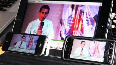 El streaming permite que contenidos audiovisuales sean vistos en cualquier dispositivo móvil.