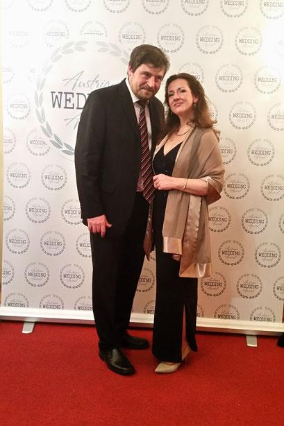 Helga Bauer beim Austrian Wedding Award 02/2017 Palais Eschenbach Wien