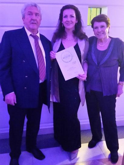 Helga Bauer beim Austrian Wedding Award 02/2017