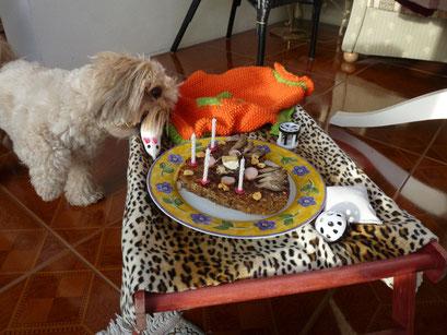 ... lecker meine Geburtstagstorte ... 4J