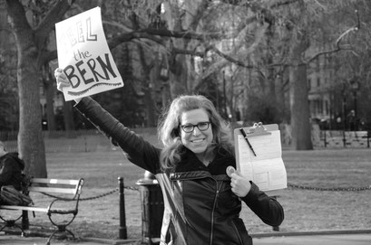 …you can vote for Bernie Sanders! photo: Reinhold Ponesch ©