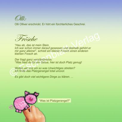 Olli Olliver und die Frösche1 ©Eschenblatt-Verlag
