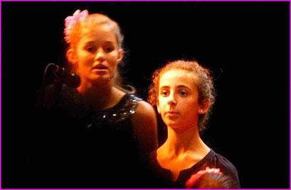 Spectacle les 4 filles du Samouraï st Laurent de Neste  2014
