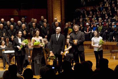 concert voix du plateau halle aux grains 2009