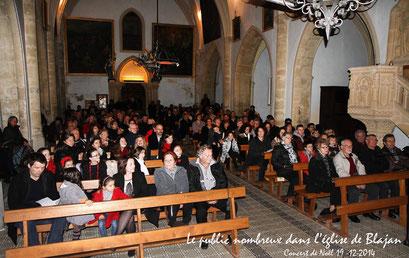 Concert de Noël à Blajan 2014