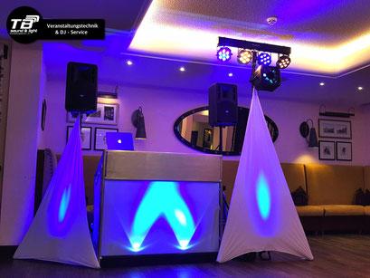DJ für eine runde Geburtstagfeier im Dorint Hotel Venusberg, inkl. elegantem Ton- und Licht Konzept.