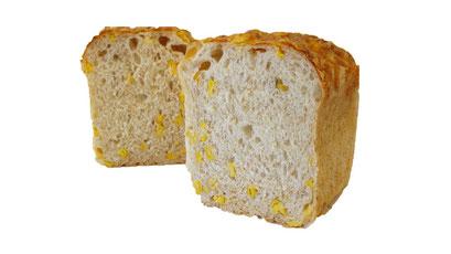 グラハムコーンチーズパン