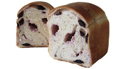 ブルーベリーとクリームチーズパン