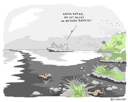 """Cartoon """"Alles im grünen Bereich"""""""