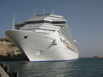 Costa Pacifica in Malta