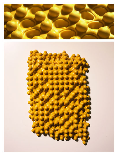 P0BSY15V2240, polyurethene, pigment, 20x32x3,5 cm, 2015